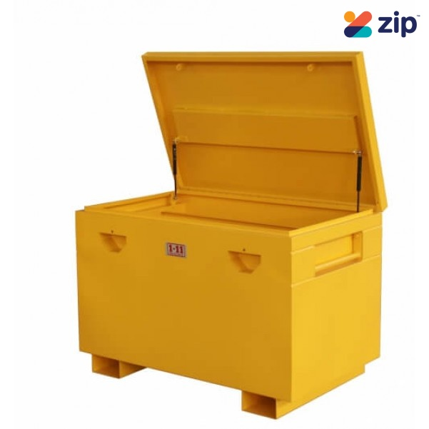 1-11 SITETWOBG Heavy Duty Lockable Yellow Site Box1220W x 760D x 850Hmm Workshop Tool Boxes & Trolleys