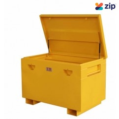 1-11 SITE2BG - Heavy Duty Lockable Yellow Site Box 1220Wx 760D x 850Hmm Ute & Truck Boxes