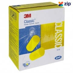 3M 310-4003 - 200 Pairs E.A.R Classic Platinum Yellow Earplugs M3104003 Head, Eye & Ear protection