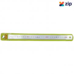 "ACCUD AS1030 - 12"" (300MM) Hard Chrome Matt Finish Stainless Ruler Measuring Level"
