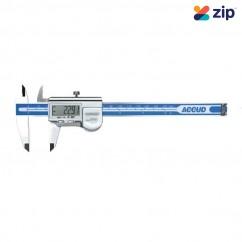 ACCUD AC-112-012-12 - 300mm Coolant Proof IP67 Dual Scale Digital Caliper Measuring Caliper