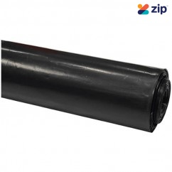 Actech 8BF42-50 - 4m x 50m x 200um Black Builders Polythene Film Roll PLASTICBLACK200