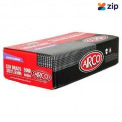 Airco C38 - 38mm x 1.60mm Electro Galvanised Brads BC16380 Nail Gun Nails Consumables
