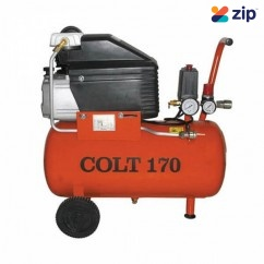 Airco Colt 170 - 240V 2HP 24L Tank Single Phase Air Compressor Single Phase