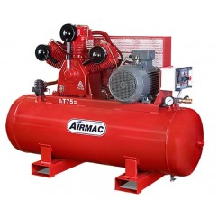 Glenco Airmac T75-415V -  15hp 400L 142psi Air Compressor Three Phase