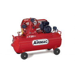 Airmac T20 240V - 16.5cfm 100L SIngle Phase Air Compressor