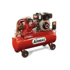 Glenco Airmac T20D ES - 17.3cfm 70L 3Cyl Electric Start Diesel Compressor Petrol & Diesel