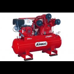 Airmac T55P ES 52.3cfm 150L 13HP 3 Cyl Electric Start Petrol Air Compressor Petrol & Diesel
