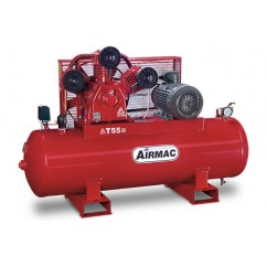 Airmac T55 52.3cfm 3 Phase 415V 300L Tank Air Compressor Three Phase