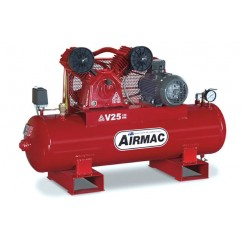 Airmac V25 - 415V  25cfm 3 Phase 125L Air Compressor Three Phase