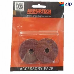 Arbortech MIN.FG.009 - 4 X 60 Grit Mini-Grinder Sanding Pads Arbortech Accessories