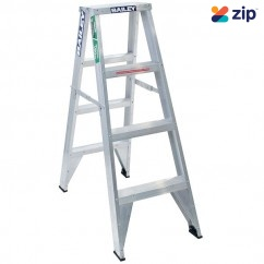 Bailey FS13429 - 1.2m Trade Aluminium DS4 150kg Riveted Double Sided Step Ladder Step Ladders