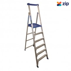 Bailey FS13583 - 1.8m Aluminium P150-6 150kg Platform Step Ladder Step Ladders