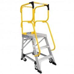 Bailey FS13874 - 2.82m 150kg MK3Aluminum 3 Step Order Picking Platform