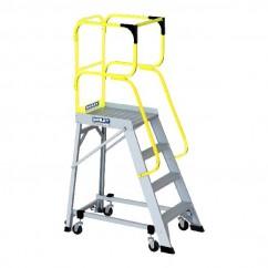 Bailey FS13875 - 3.1m 150kg MK3Aluminum 4 Step Order Picking Platform