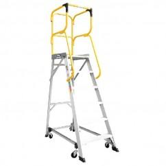 Bailey FS13877 - 3.65m 150kg MK3Aluminum 6 Step Order Picking Platform