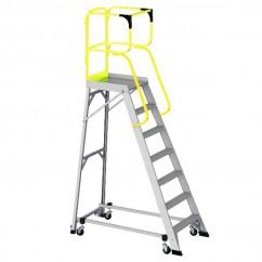 Bailey FS13878 - 3.93m 150kg MK3Aluminum 7 Step Order Picking Platform