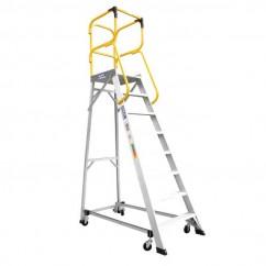 Bailey FS13879 - 4.2m150kg MK3Aluminum 8 Step Order Picking Platform