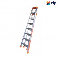 Bailey FS13864 - 2.4m 150Kg Aluminum SLS Triple Purpose 3 In 1 Ladder Step Ladders