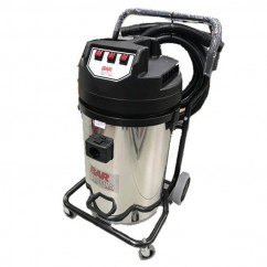 BAR 330EGECOE2M330BS - 240V 3300W 76L Stainless Steel Tank Wet & Dry Vacuum Dust Extractors for Power Tools