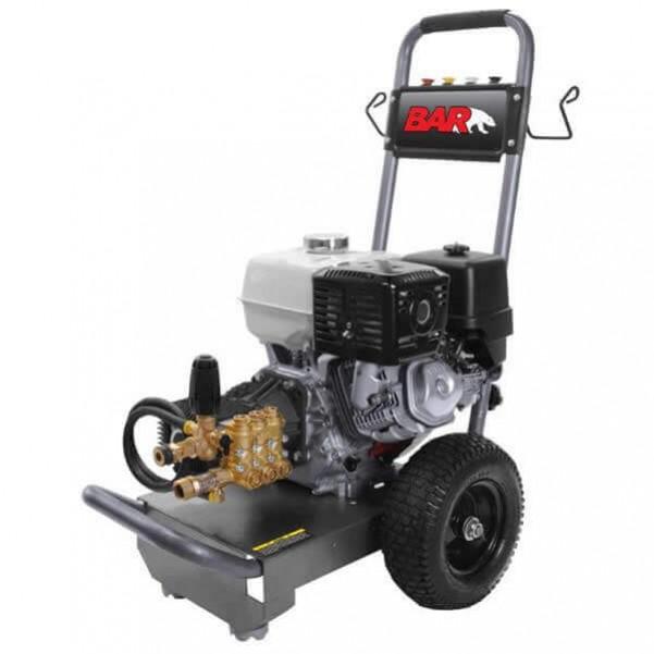 BAR 4013C-H - 4000PSI Petrol Cold Water Pressure Cleaner Petrol