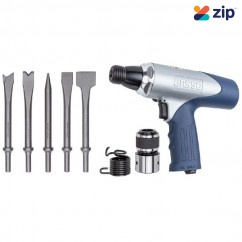 Basso BHA67A1– Air Hammer Kit Includes 5 Chisels