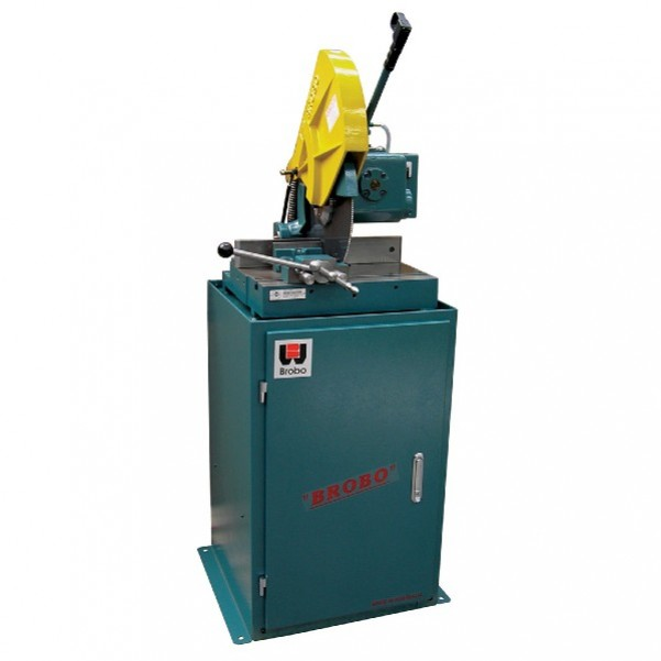 Brobo S350G - 415V 3-Phase 2-Speed Ferrous Metal Cold Saw With Stand 9730030 Metal Cut Off Saws