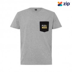 Bisley BKT065_BGGY - 100% Cotton Grey Marle FLX and MOVE Tee Others