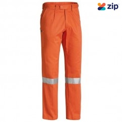 Bisley BP6007T_BVEO - 100% Cotton Orange Taped Original Work Pants Others