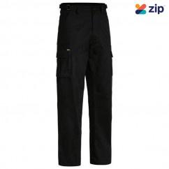 Bisley BPC6007_BBLK- 100% Cotton Black Original 8 Pocket Cargo Pants Others