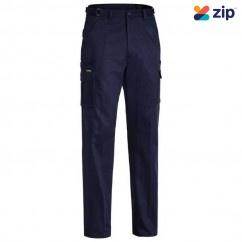 Bisley BPC6007_BPCT- 100% Cotton Navy Original 8 Pocket Cargo Pants Others
