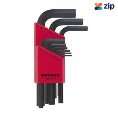 Bondhus 12299 - 9 Piece Short Hex Key Wrench Set