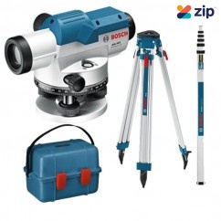Bosch GOL 26 D KIT - 10m 360 Degrees Professional Optical Level Combo Kit With Tripod and Levelling Staff