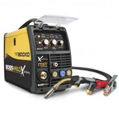 Bossweld 699200 - 240V 15A X-Series MST 200XD Mig/Stick/Tig Inverter Welder Welding Machines