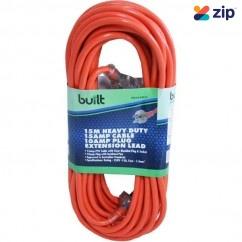 built LEAD15 - 15m 15Amp Cable 10Amp Plug Socket Extension Lead 190-52-59215