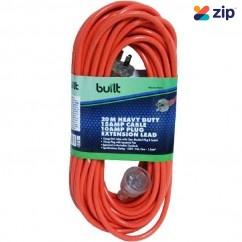 built LEAD20 - 20m 15Amp Cable 10Amp Plug Socket Extension Lead 190-52-59220