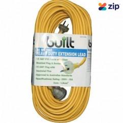 built LEAD30 - 30m 15Amp Cable 10Amp Plug Socket Extension Lead 190-52-59230