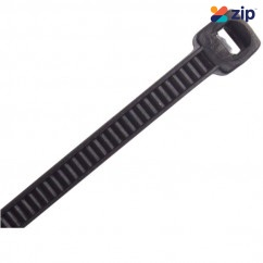 CABAC CT43OBK - 430 x 4.8mm Black Nylon UV Cable Ties