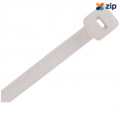 CABAC CT200NT/100 - 200 x 4.8mm Natural Cable Ties