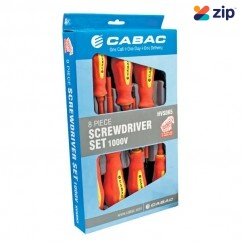 CABAC HVSDK5 - 8 Piece 1000V Screwdriver Set Screwdriver