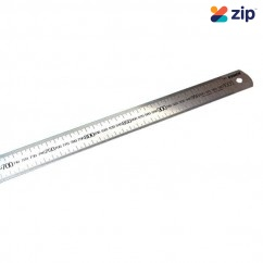 C&L CLSSRULE10000D - 1000mm Metric Scale Stainless Steel Both Sides Engraved Single Scale Ruler Levels