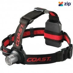 Coast COAHL5 - 175 Lumens HL5 Utility Fixed Beam LED Headlamp 805079 Head Lamp with Replaceable Batteries