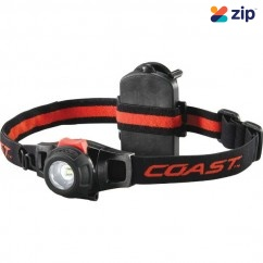 Coast COAHL6 - 295 Lumens HL6 Wide Angle Flood Beam LED Headlamp 805046 Head Lamp with Replaceable Batteries