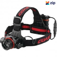 Coast COAHL8 - 615 Lumens HL8 Pure Beam Focusing LED Headlamp 805047 Head Lamp with Replaceable Batteries