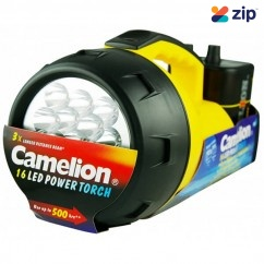 Camelion CAT16L6VB – 16LED 6V Torch With Battery Lights & Torches