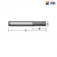 """Carb-I-Tool TG123/8E/C - 3/8"""" Shank Solid Carbide Diamond Cut Fibreglass Bits Router Bits"""