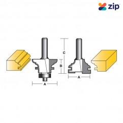 """Carb-I-Tool TPD1B-1/2 - 12.7mm (1/2"""") Shank Panel Door Bit Panel Door & Window Bits"""
