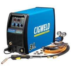 Cigweld W1005220 - Transmig 220i self contained 1 Phase Multi-Process Welding Inverter Mig