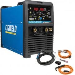 Cigweld W1006200 - WeldSkill 200AC/DC 240V (15Amp) Welding Inverter Multi process Tig & Arc Tig