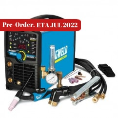 Cigweld W1008205 - WeldSkill 205AC/DC Stick & Tig Portable Inverter Welder